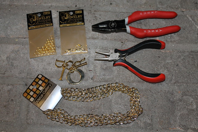 How to make a designer chain belt