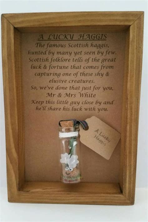 Scottish wedding, Gift for Scottish themed wedding