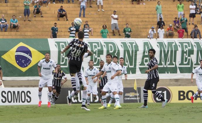 Goiás x Corinthians (Foto: Ricardo Taves)