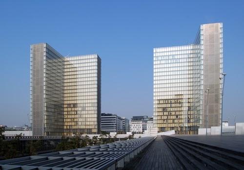 光と影: フランス国立図書館