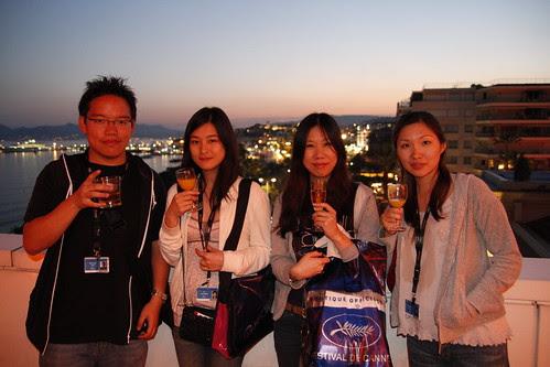 Me, Fooi mun, Yuiko and Tomoko