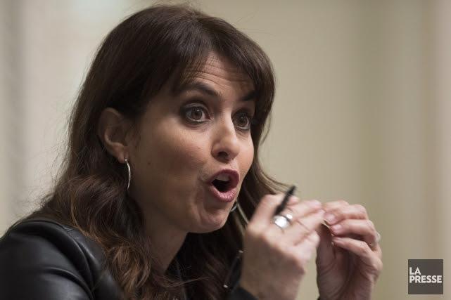 La députée VéroniqueHivon est la seule à avoir... (PHOTO JACQUES BOISSINOT, ARCHIVES LA PRESSE CANADIENNE)