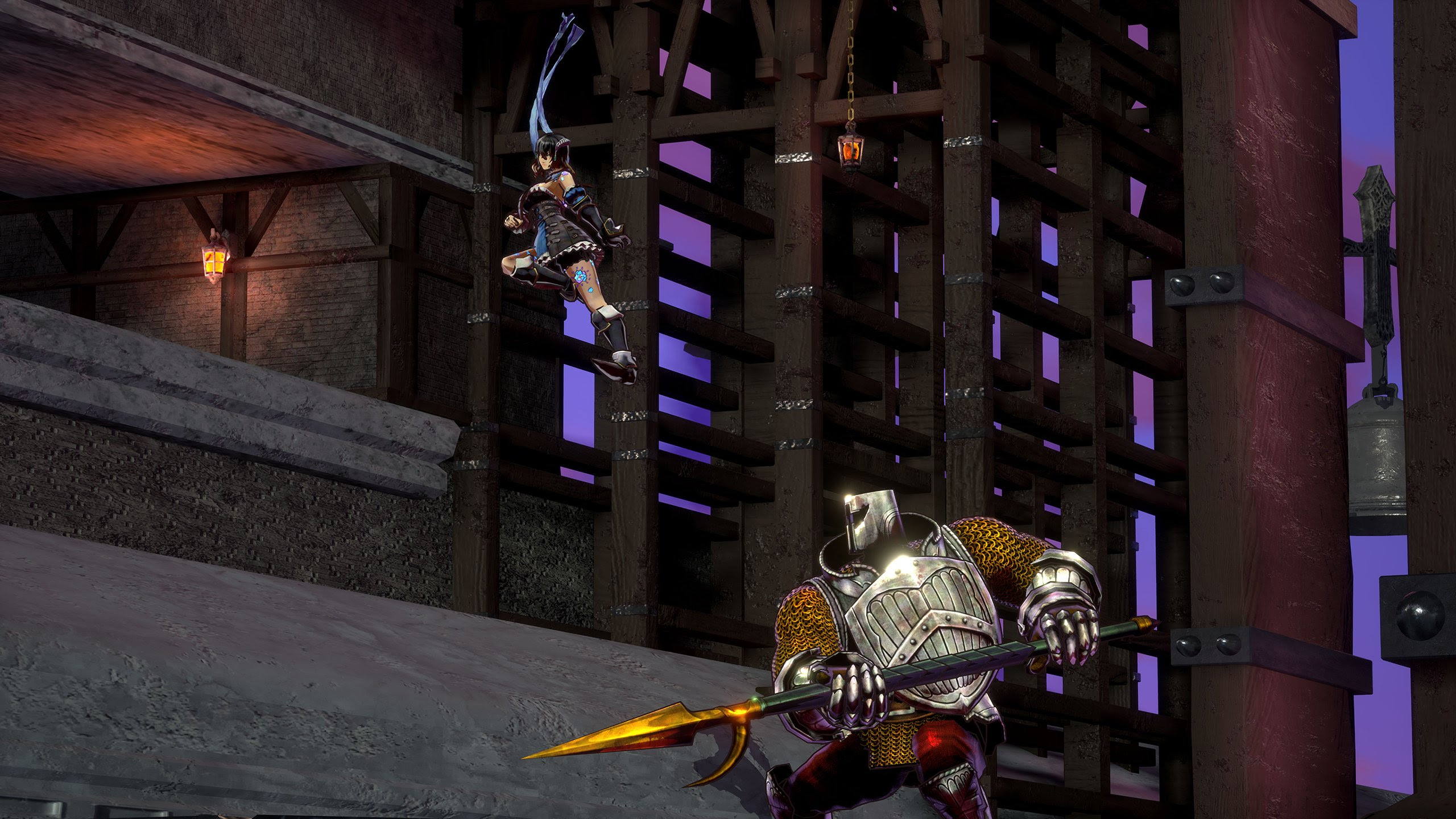 While 'nothing is set in stone,' Bloodstained could still follow a staggered release model screenshot