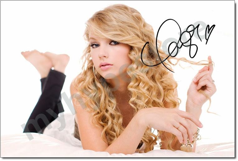 World Of Autograph: Taylor Swift
