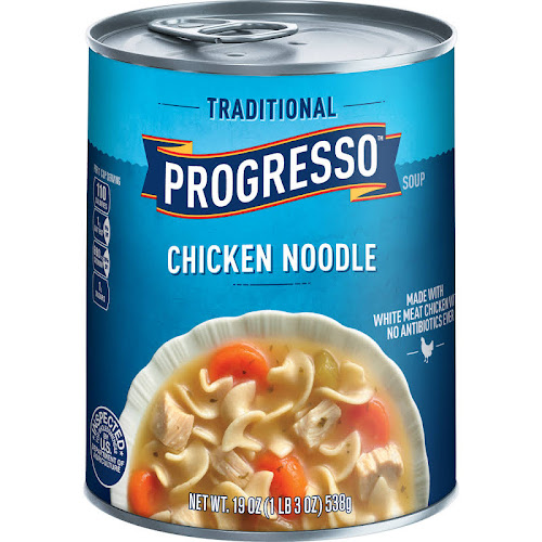 Progresso Traditional Soup, Chicken Noodle - 19 oz can