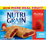 Kellogg's Nutri-Grain Strawberry Soft Baked Cereal Bars - 8ct