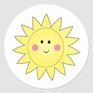 Sunshine Summer Stickers sticker