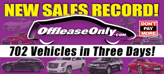 Off Lease Only Sets Record by Selling Over 700 Vehicles in Three Days