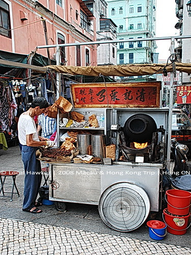 Macau - Local Hawker