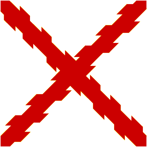 File:Cross of Burgundy (Template).png