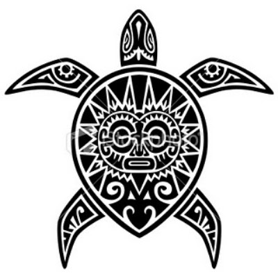 A Maori Sea Turtle Tattoo Clipart Panda Free Clipart Images