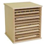 Wood Designs Tabletop Puzzle Rack - Wood Designs - 33200