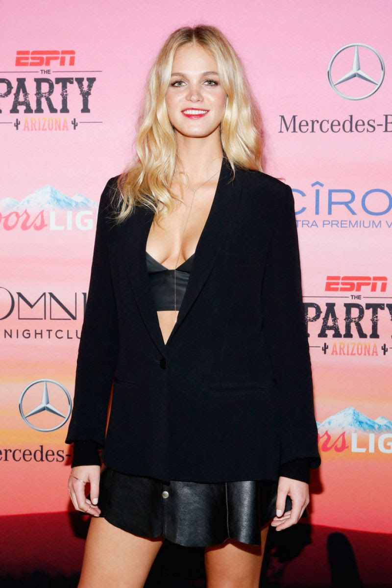 ERIN HEATHERTON at ESPN Party in Scottsdale