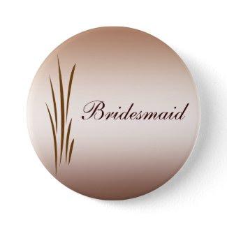 Autumn Harvest Wedding Bridesmaid Pin