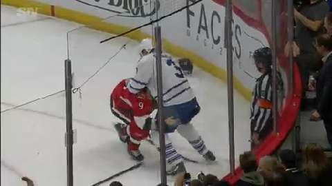 Gotta See It: Phaneuf slew foots Michalek, drops gloves - Sportsnet.ca