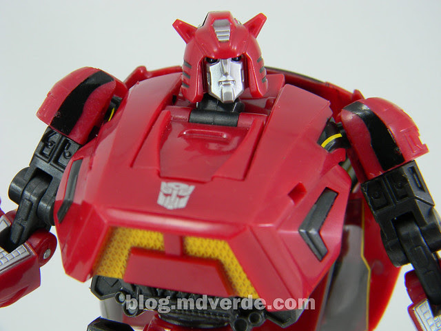 Transformers Cliffjumper Deluxe - Generation War for Cybertron - modo robot