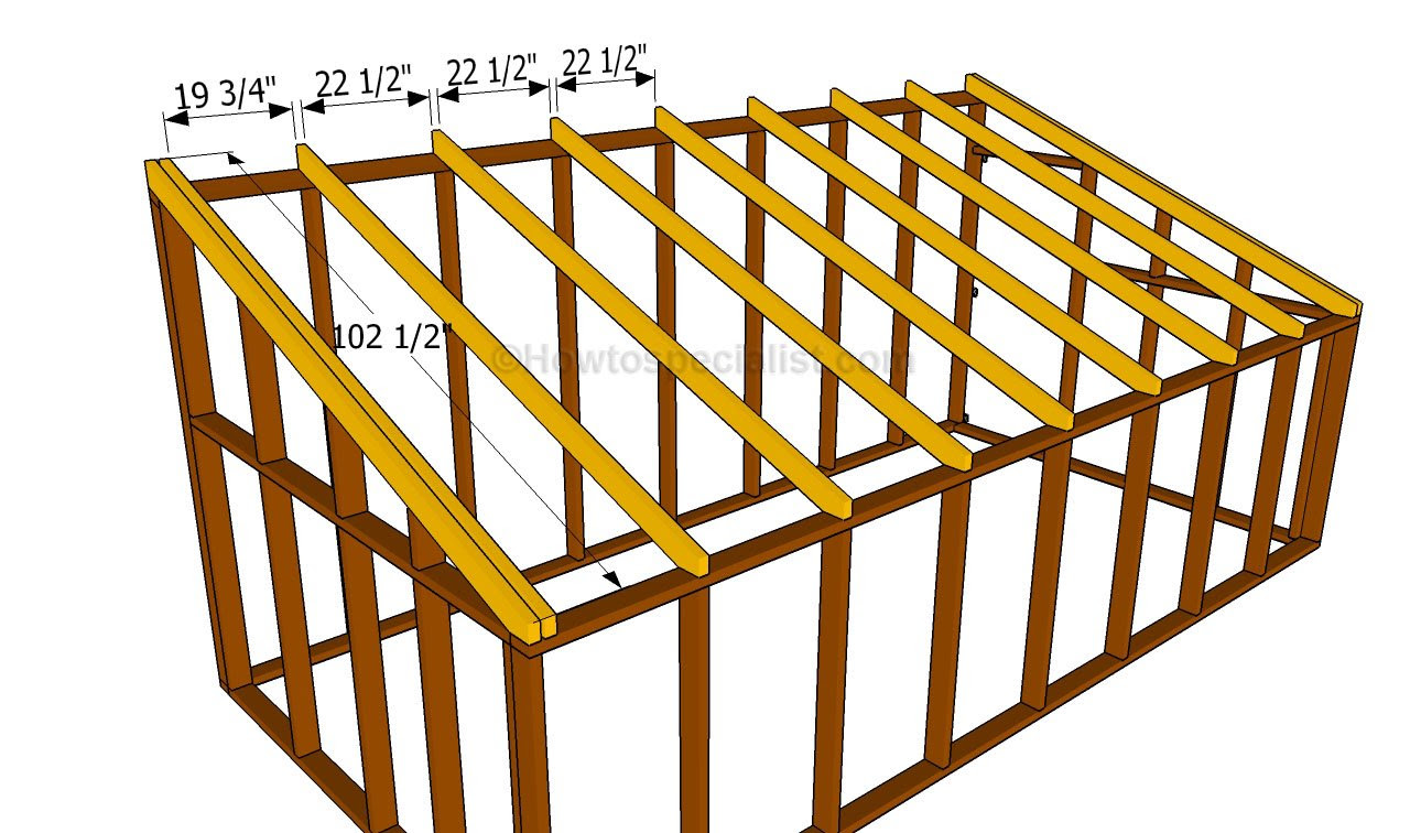 DaSheds: How to build a storage shed on a slope