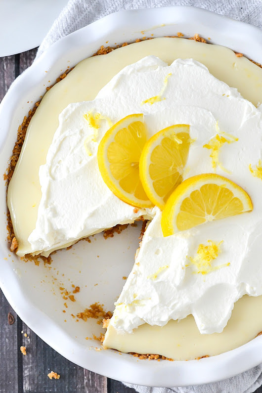 Lemon Pie - Mother Thyme