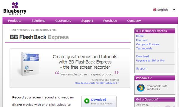bbsoftware 8 Aplicaciones gratis para grabar la pantalla del ordenador