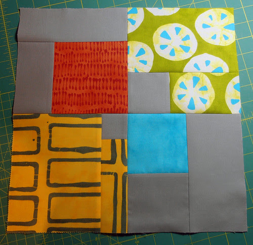 Modern Blocks Bee - February block