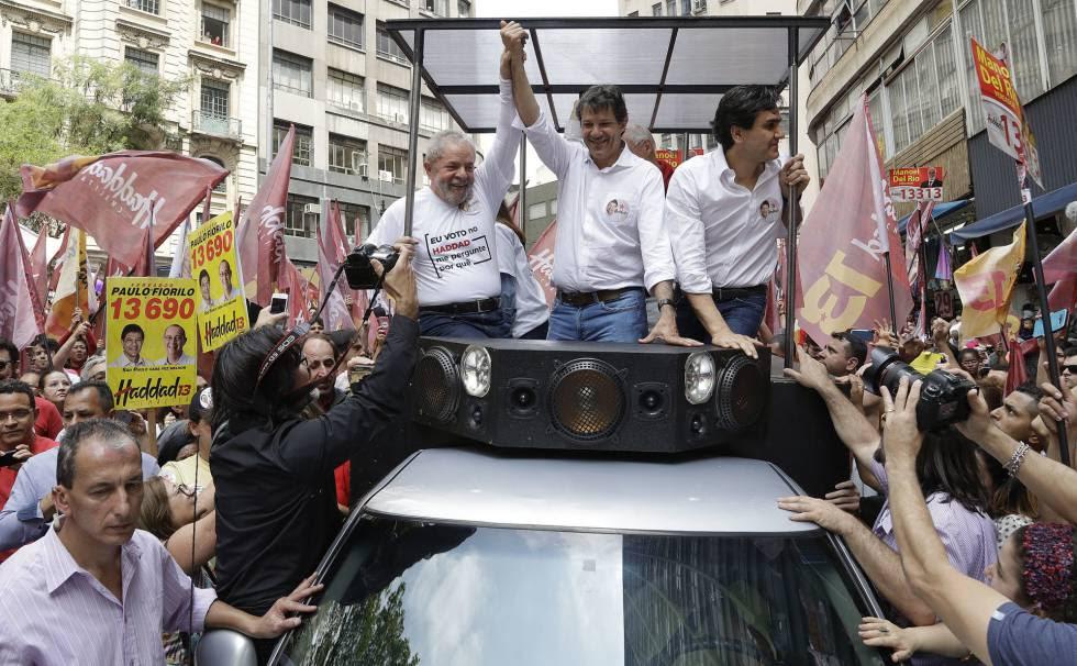Resultado de imagem para Pesquisa aponta que Lula lidera pesquisa para presidente entre evangélicos de São Paulo