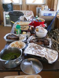 Pebbles Pork Chop Party Dinner Meal
