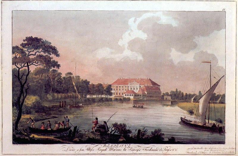 Archivo: Berlin, Schloss Bellevue, Radierung von Carl Benjamin Schwarz, 1797.jpg