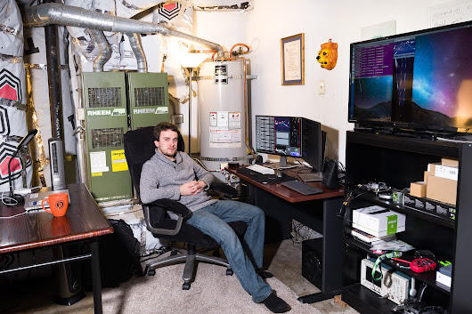The First Person to Hack the iPhone Built a Self-Driving Car. In His Garage.