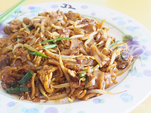 Hill Street Fried Kway Teow At Chinatown Complex 禧街炒粿條