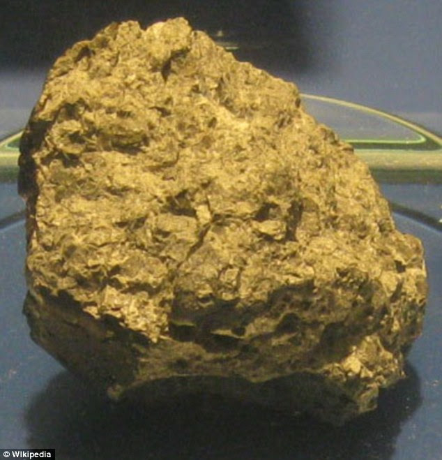 Allan Hills 84001, also known as ALH84001, is a meteorite that was found in Allan Hills, Antarctica on December 27, 1984. The rock has been dated to about 4.5 billion years - the period when Mars formed