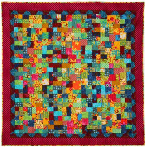 garden wall quilt