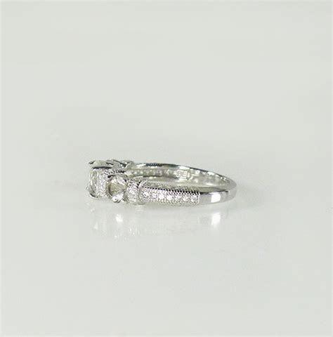 Low Profile Engagement Ring Herkimer Diamond New York's