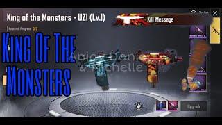 Pubgmobileupdate - king of the monsters uzi pubg mobile update 0 12 5