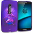 Purple Dolphin TPU Design Soft Rubber Case Cover for Motorola Droid Maxx 2 XT1565 :: CellPhoneCases.com