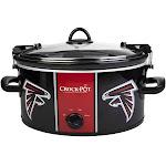Crock Pot 6 Quart Slow Cooker Officially Licensed NFL - Atlanta Falcons