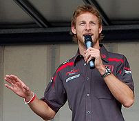 Jenson Button in 2007.