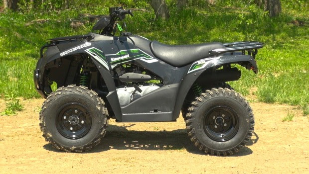 2015 Kawasaki Brute Force 300 Test With Video