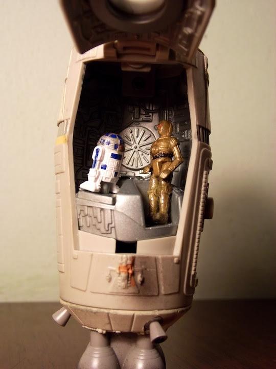 inside Escape pod