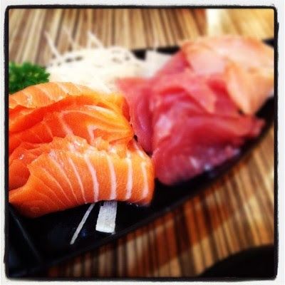 Just eat! #food #sushi #sashimi (Taken with instagram)
