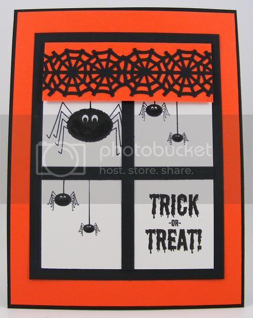Window Spiders Card
