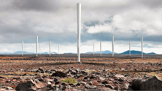 These bladeless wind turbines shake to generate electricity