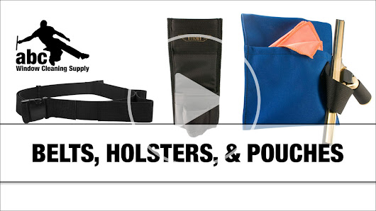 All About Holsters, Belts, And Pouches For Window Cleaners
