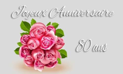 Jolie Carte Anniversaire Gratuite 80 Ans A Imprimer Sumiko