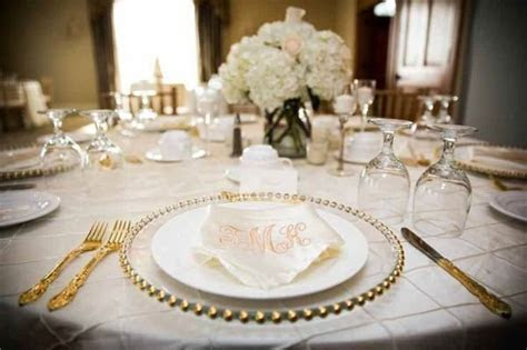 Sugar And Spice Events :: Glass Charger Plates For Hire