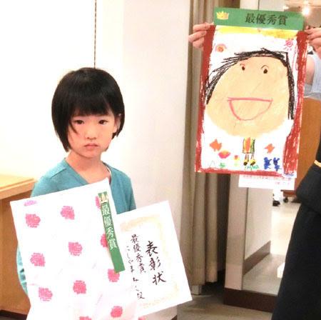 松菱 2015敬老の日,おじいちゃんおばあちゃん 似顔絵,似顔絵 表彰式,松菱 表彰式