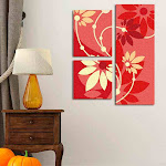 """Canvas Multi Panel 3 pieces 42"""" X 52"""" #012 Rolled Canvas"""