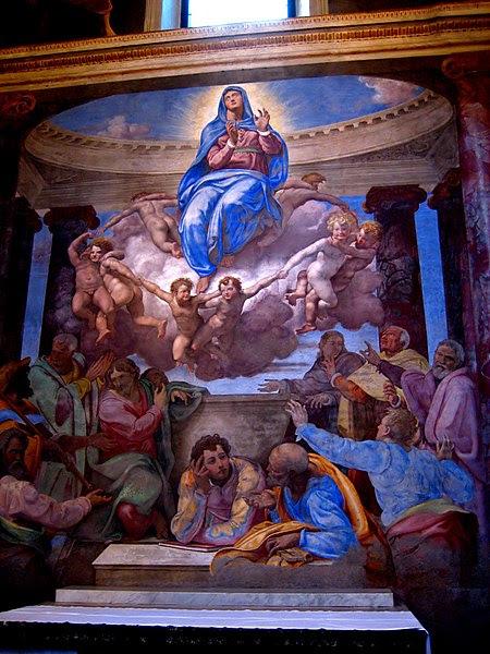 File:Trinita dei Monti assumption of the virgin.jpg