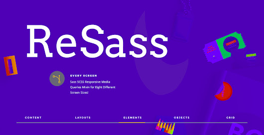 ReSass — An Opinionated Lib for Responsive Mixins for Sass