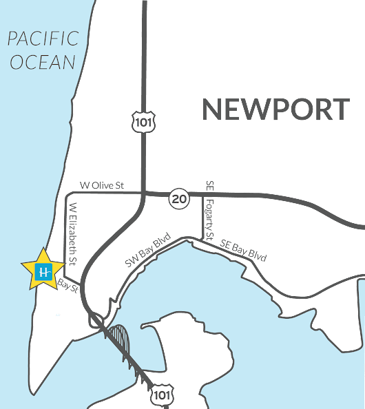 Newport Oregon Hotels | OR Coast Hotel Lodging | Hallmark Inns & Resorts