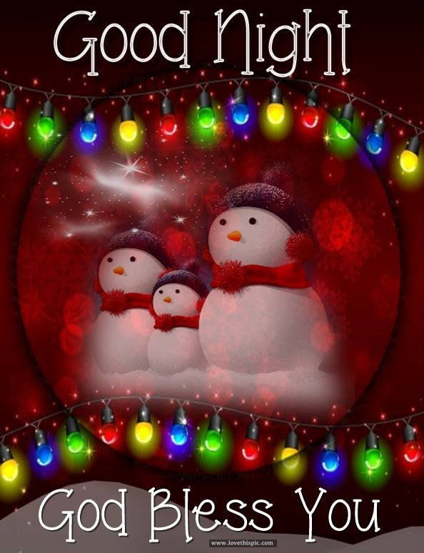 Christmastime Goodnight God Bless You Quote Pictures Photos And